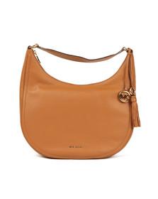 Michael Kors Womens Brown Lydia Large Hobo Bag