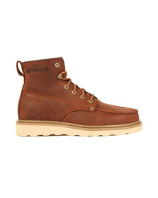 CAT Mens Brown Glenrock Mid Boot