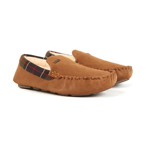 Barbour Lifestyle Mens Brown Monty Slipper