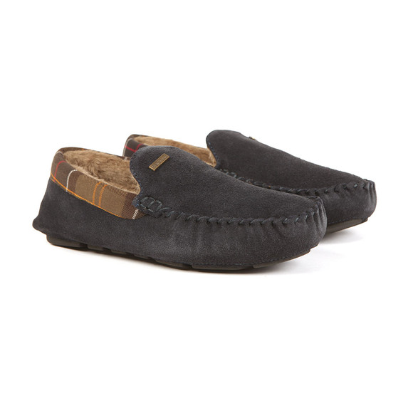 Barbour Lifestyle Mens Blue Monty Slipper main image