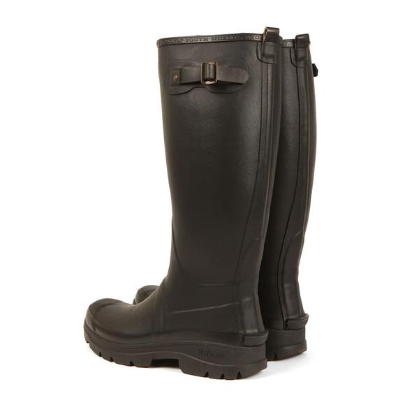 Barbour Countrywear Mens Black Griffon Wellington Boot main image
