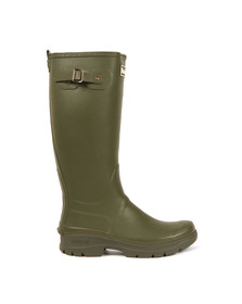 Barbour Countrywear Mens Green Griffon Wellington Boot