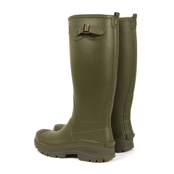 Barbour Countrywear Mens Green Griffon Wellington Boot main image