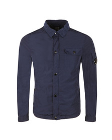 CP Company Mens Blue Nylon Overshirt