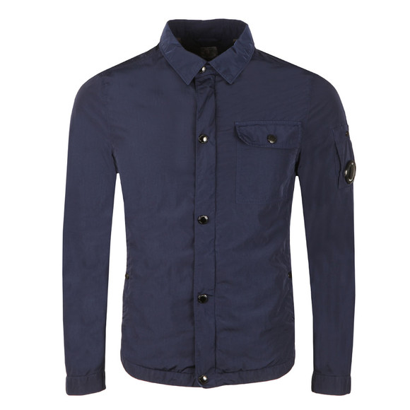 C.P. Company Mens Blue Nylon Overshirt main image