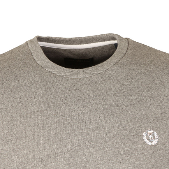 Henri Lloyd Mens Grey Bredgar Crew Sweat main image