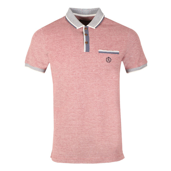 Henri Lloyd Mens Red S/S Highland Oxford Polo main image