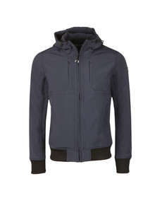 Weekend Offender Mens Blue Irons Jacket