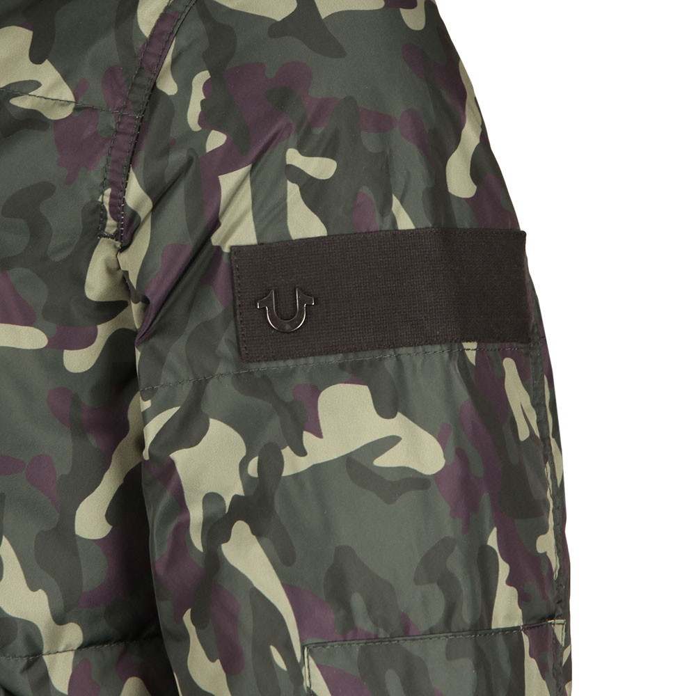 Hooded Camouflage Jacket main image