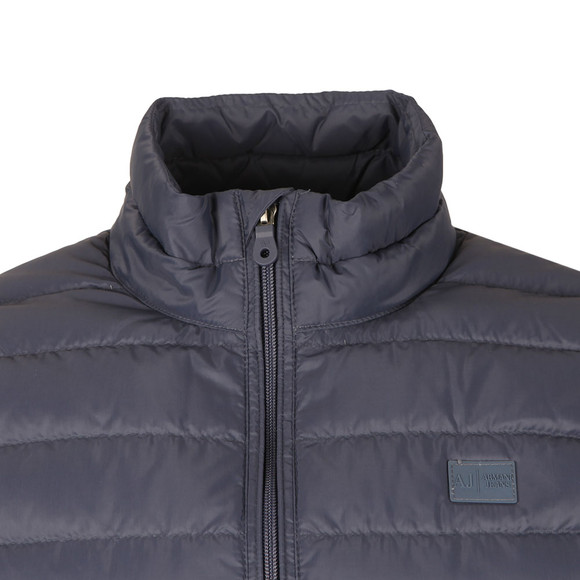 Armani Jeans Mens Blue Down Gilet  main image