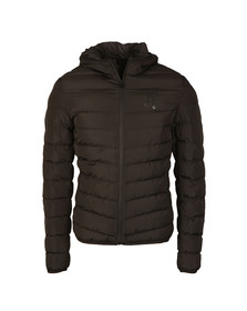 Gym king Mens Black Puffer Jacket