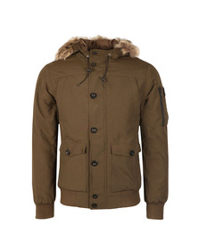 Weekend Offender Mens Green Scope Jacket