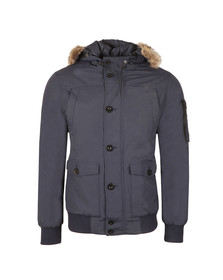Weekend Offender Mens Blue Scope Jacket