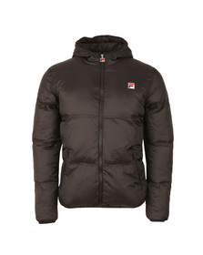 Fila Mens Black Vincenzi Padded Jacket