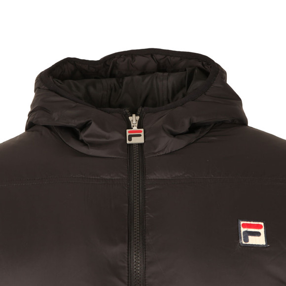 Fila Mens Black Vincenzi Padded Jacket main image