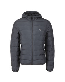 Fred Perry Mens Blue Insulated Hooded Brentham