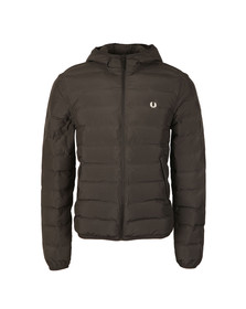 Fred Perry Mens Black Insulated Hooded Brentham