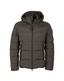 J.Lindeberg Mens Grey Barry 77 Rich Nylon Jacket