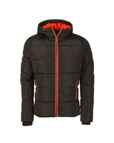 Superdry Mens Black Sports Puffer