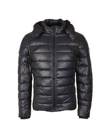 Calvin Klein Mens Blue Down Jacket