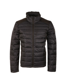 Calvin Klein Mens Blue Packable Down Jacket