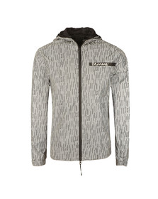 Money Mens Silver Camo Reflective Jacket