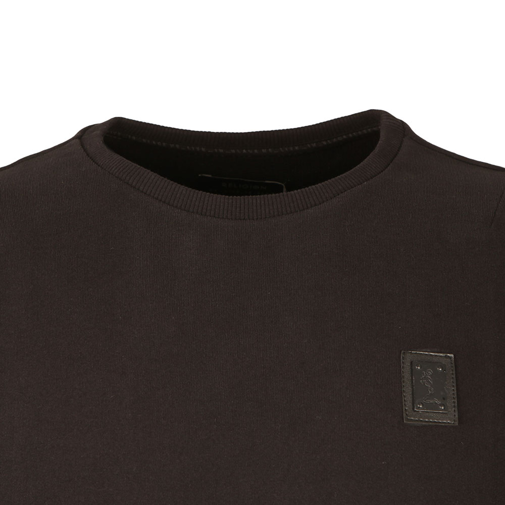 Crew Neck Badge Sweatshirt main image