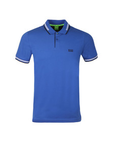 Boss Green Mens Blue Paul Polo Shirt