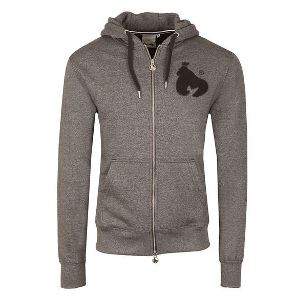 Money Mens Black Sig Ape Melange Zip Hoody main image