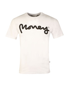 Money Mens White Sig Ape Tee