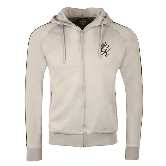 Gym king Mens Grey Poly Track Top main image