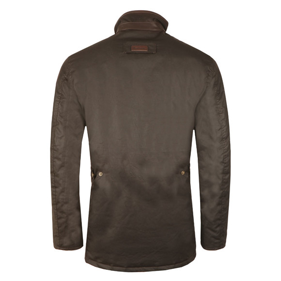 Barbour Lifestyle Mens Brown Prestbury Wax Jacket main image