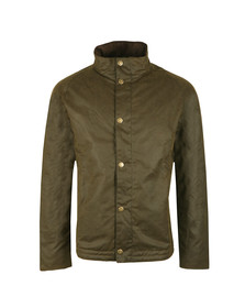 Barbour Lifestyle Mens Green Duxbury Wax Jacket