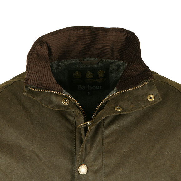 Barbour Lifestyle Mens Green Duxbury Wax Jacket main image