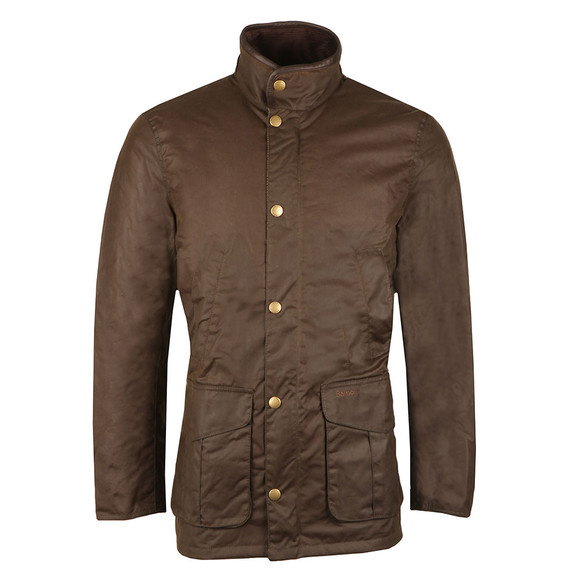 Barbour Lifestyle Mens Green Wax Hereford Jacket main image