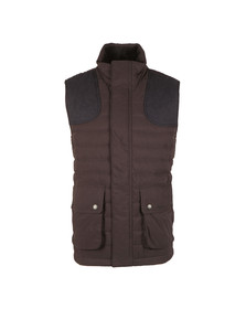 Barbour Lifestyle Mens Blue Bradford Gilet