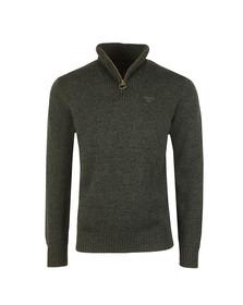Barbour Countrywear Mens Green Lambswool 1/2 Zip
