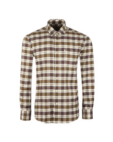 Barbour Lifestyle Mens Green L/S Roe Shirt