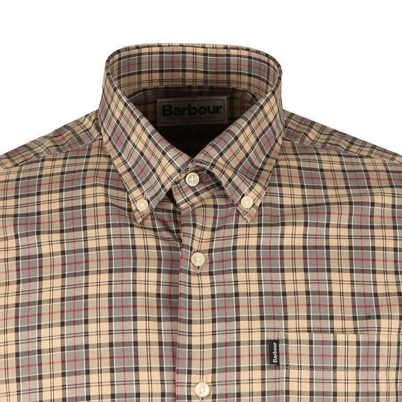 Barbour Lifestyle Mens Grey Malcolm Classic Tartan Shirt main image