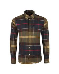 Barbour Lifestyle Mens Green L/s John Shirt