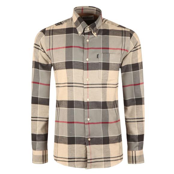 Barbour Lifestyle Mens Grey L/s John Shirt main image