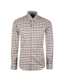 Barbour Countrywear Mens Brown L/S Dulton Shirt