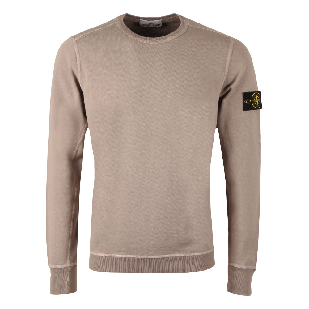 Washed Crew Neck Sweatshirt main image