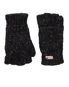 Superdry Womens Blue Clarrie Stitch Gloves