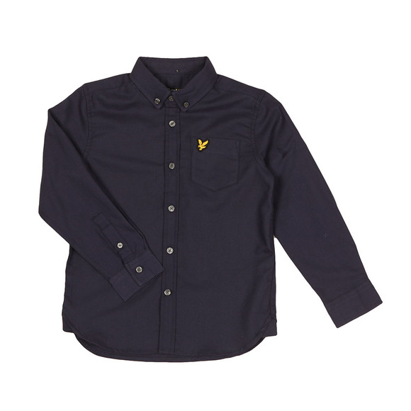 Lyle And Scott Junior Boys Blue Oxford Shirt