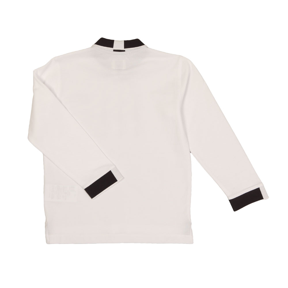 Long Sleeve Tipped Polo Shirt main image