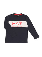 Boys Long Sleeve Large Logo T Shirt
