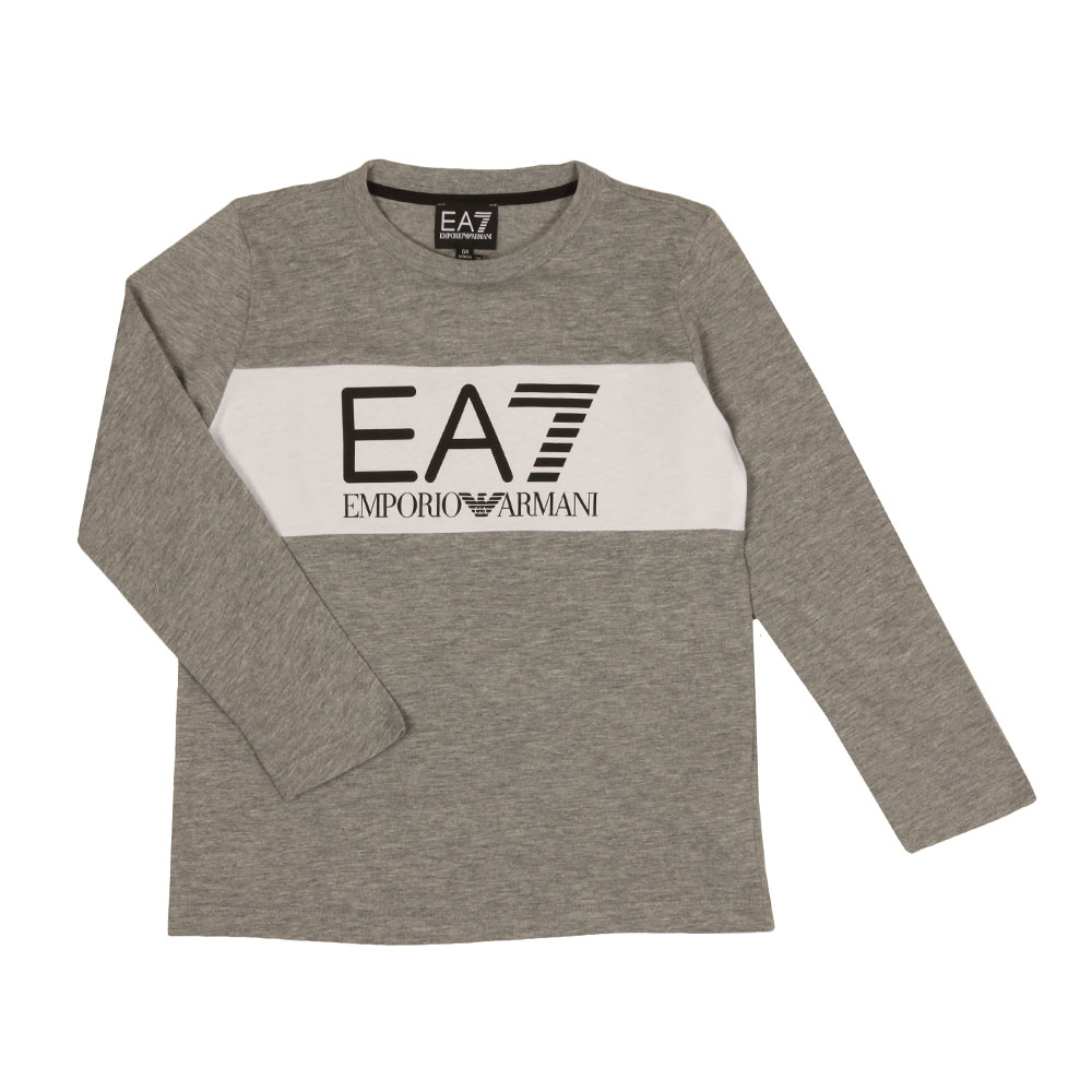 Boys Long Sleeve Large Logo T Shirt main image
