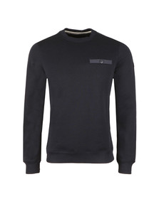 Weekend Offender Mens Blue Oldman Sweat