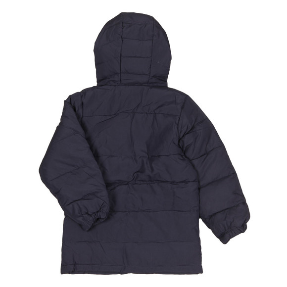 Lyle And Scott Junior Boys Blue Down Puffa Coat main image